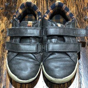 Carters Velcro Gray Boys Shoe